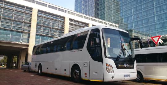 39 Seater Fleet Unit Parking in Cape Town